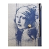 Banksy Print A4 Girl w Earring-home-The Vault