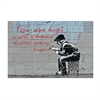 Banksy Print A4 Original Thought-home-The Vault