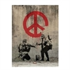 Banksy Print A4 Peace Sign-home-The Vault