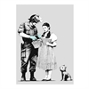 Bansky Print A4 Police Inspects Dorothy-home-The Vault