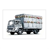 Banksy Print A4 Animal Truck-home-The Vault