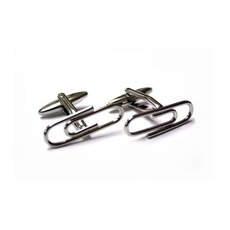 Paperclips Cufflinks-jewellery-The Vault