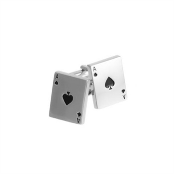 Ace Playing Card Cufflinks