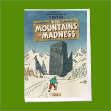 Tintin Mountains of Madness Card-cards-The Vault