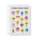 Rugby Road Code Card