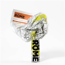 Crumpled Map - Rome-miscellaneous-The Vault