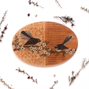 Oval Wall Art Fantail