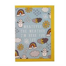 Whatever the Weather Card-cards-The Vault