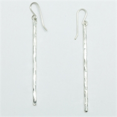 Whiti Earrings Silver-jewellery-The Vault