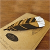 Huia Feather Brooch Small-jewellery-The Vault