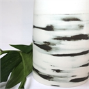 Large Vase Black Shibori