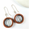 Jarrah Hoop Earrings Black-new-in-The Vault