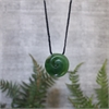 Ernesto Ovalle Medium Pounamu Koru-jewellery-The Vault