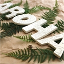 AROHA Ceramic Letter Set Koru White