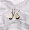 Porcelain Kereru Belly Feather Earrings-new-in-The Vault