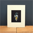 Matted Print She of the Kowhai Tree