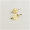Kawakawa Drop Earrings Gold Plate-new-in-The Vault