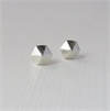 Hex Studs Silver-jewellery-The Vault