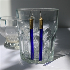 Sure Shot Earrings Blue-new-in-The Vault