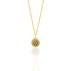 Lotus Petite 9ct Gold Pendant -jewellery-The Vault