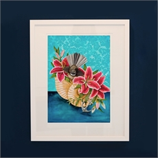 Anchor You A4 Framed Print-artists-and-brands-The Vault