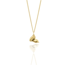 Fantail Petite 9ct Gold Pendant-jewellery-The Vault