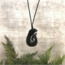 Ernesto Ovalle Pounamu Fish Hook