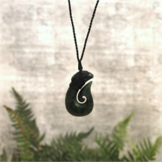 Ernesto Ovalle Pounamu Fish Hook-new-in-The Vault