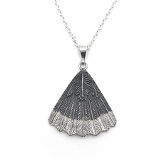 Huia Fan Necklace-jewellery-The Vault