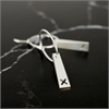 Crossing Earrings Silver-new-in-The Vault