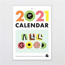 Glenn Jones Calendar 2021 A5-new-in-The Vault