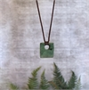 Medium Square Pounamu Brown Cord-new-in-The Vault