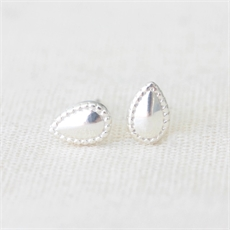 Gem Studs Silver-jewellery-The Vault