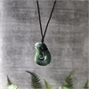 Ernesto Ovalle Pounamu Fish Hook-jewellery-The Vault