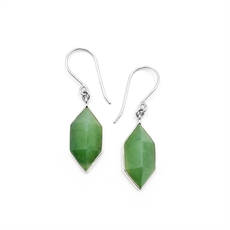 Pounamu Prism Earrings-jewellery-The Vault