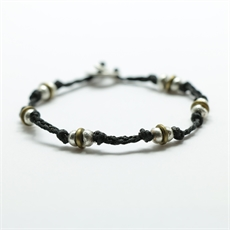 Braided Pirepire Bracelet Small-jewellery-The Vault