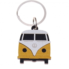 Keeper Keyring Kamper Yellow-new-in-The Vault