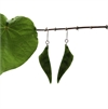 Pounamu Earrings Free Form-new-in-The Vault
