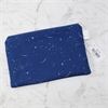 Large Pouch Navy Stars-new-in-The Vault