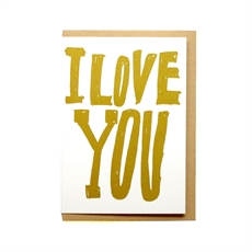 I Love You Card-cards-The Vault