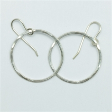 Bangle Pirori Earrings Small Silver-jewellery-The Vault