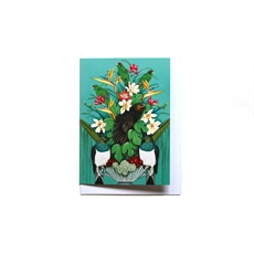 Mini Card Kaka's Floral Kingdom-artists-and-brands-The Vault