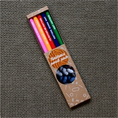 Knitter's Pencil Pack of 5 Boxed-lifestyle-The Vault