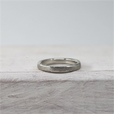 Finger Loop Roughened Stg Silver-jewellery-The Vault