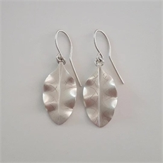 Silver Tarata Earrings Small-jewellery-The Vault