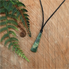 Pounamu Pendant Small Toki-jewellery-The Vault
