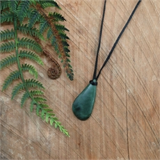 Pounamu Pendant Small Freeform-jewellery-The Vault