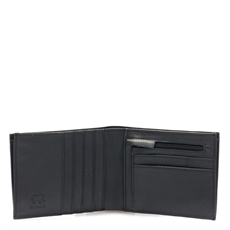 Wallet Zip Coin Section Black-artists-and-brands-The Vault