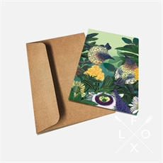 Flox Kind Hearted Korimako Card-artists-and-brands-The Vault