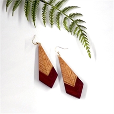 Wooden Earrings Small-jewellery-The Vault